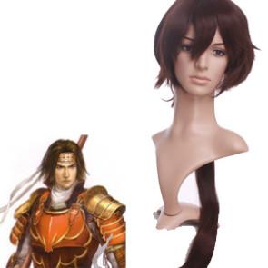 Brown 65cm Sengoku Musou 3 Sanada Yukimura Cosplay Wig