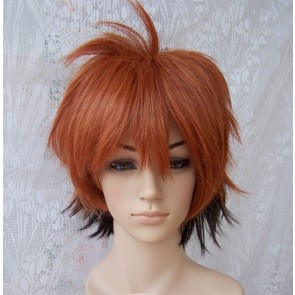 Brown And Black 35cm Nura: Rise of the Yokai Clan Rikuo Nura Human Form Cosplay Wig