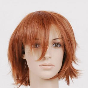 Brown Feliciano Vargas Cosplay Wig