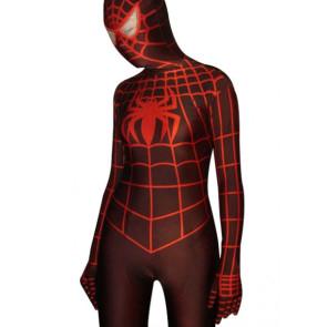 Brown Spiderman Lycra Spandex Zentai Suit