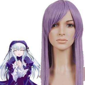 Purple 80cm Rozen Maiden Barasuishou Cosplay Wig