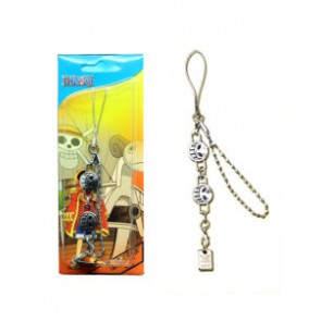 One Piece E Portgas D. Ace Anime Cell Phone Chain