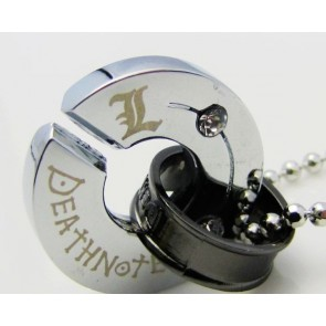 Death Note Black Alloy Anime Necklace