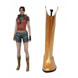 Resident Evil Claire Redfield Cosplay Boots