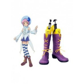 Shugo Chara Miki Imitation Leather Cosplay Boots