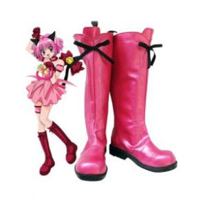 Tokyo Mew Mew Ichigo Momomiya Cosplay Boots