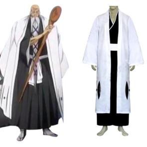 Bleach Captain Yamamoto Genryusai Shigekuni Cosplay Costume - 1st Division