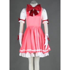 CardCaptor Sakura Pink Sakura Kinomoto Cosplay Dress