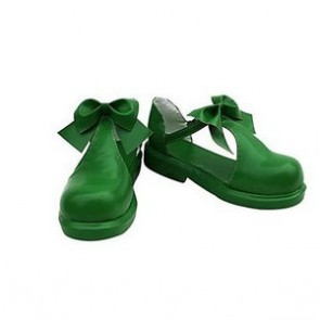 Cardcaptor Sakura Sakura Kinomoto Green Cosplay Shoes