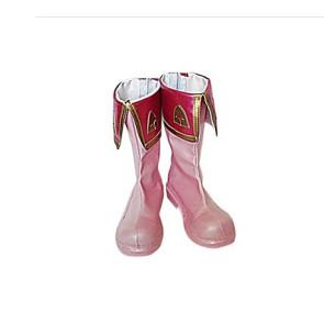 Cardcaptor Sakura Sakura Kinomoto Pink Cosplay Boots