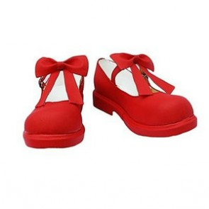 Cardcaptor Sakura Sakura Kinomoto Red Cosplay Shoes