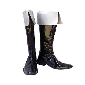 Castlevania Alucard Black Cosplay Boots