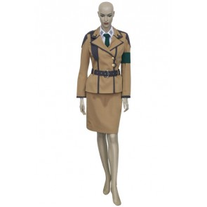 Code Geass Cecile Croomy Cosplay Costume