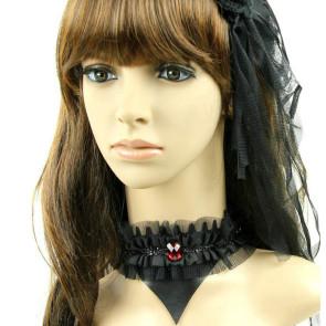 Charming Black Gothic Lady Lolita Necklace