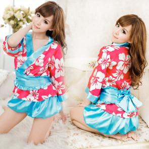 Charming Sakura Japanese Geisha Costume