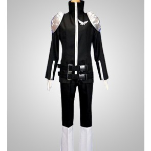 Katekyo Hitman Reborn! Black Byakuran Cosplay Costume