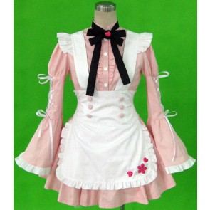 Cherry Snow Cosplay Maid Costume