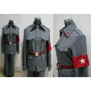 Axis Powers Hetalia China Wang Yao Cosplay Uniform