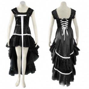 Chobits Chii Black Cosplay Costume