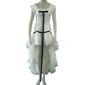 Chobits Chii White Cosplay Costume Dress