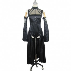 Chobits Freya Black Cosplay Costume Dress