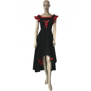 Chobits Freya Black & Red Cosplay Costume Dress