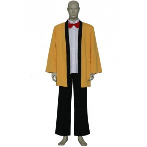 Chobits Hideki Cosplay Costume Yellow Suit