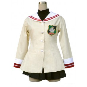 Clannad High School Freshman Uniform Cosplay Costume