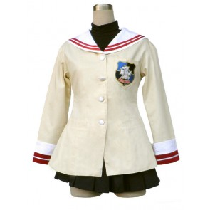 Clannad High School Senior Uniform Cosplay Costume
