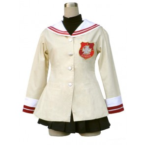 Clannad High School Sophomore Uniform Cosplay Costume