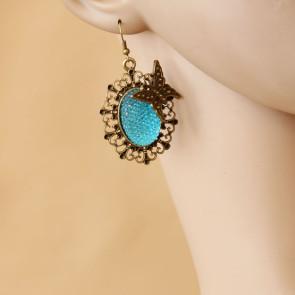 Classic Bow Handmade Lady Lolita Earrings