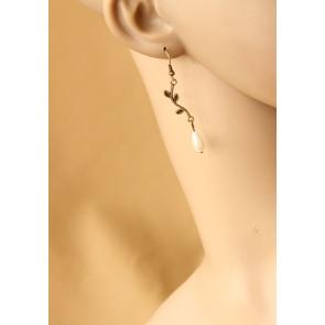 Classic Concise Handmade Women Lolita Earrings