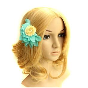 Classic Green Lady Handmade Lolita Hairpin