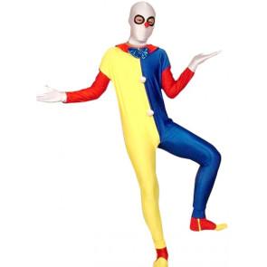 Clown Lycra Spandex Unisex Zentai Suit