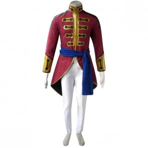 Code Geass Gilbert G.P. Guilford Cosplay Costume