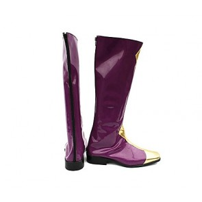 Code Geass Zero Purple Cosplay Boots