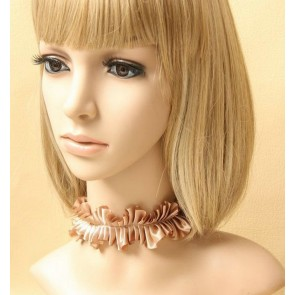 Concise Coffee Lady Lolita Necklace