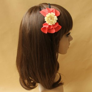 Concise Floral Handmade Girls Lolita Headband