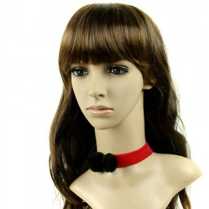 Concise Red Girls Lolita Necklace