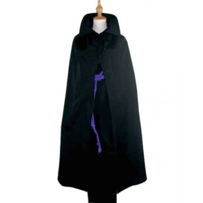 Naruto Uchiha Sasuke Cosplay Costume - Black Cape