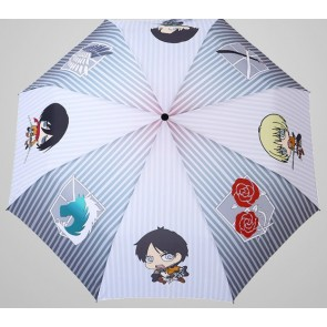 Cute Attack On Titan Cosplay Folding Umbrella