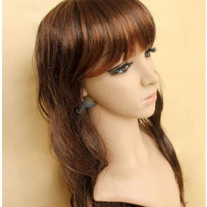 Cute Black Beard Girls Lolita Earrings