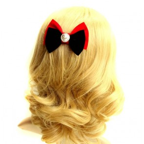 Cute Bow Girls Lolita Hairpin