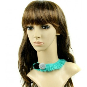 Cute Green Girls Lolita Necklace