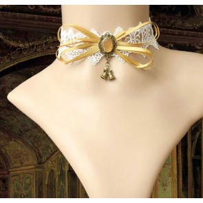Cute Handmade Lace Bow Girls Lolita Choker