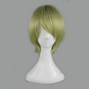 Green 35cm Brynhildr in The Darkness Ryouta Murakami Cosplay Wig