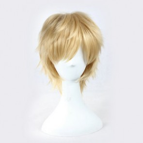 Blond 30cm Kagerou Project Shuuya Kano Cosplay Wig
