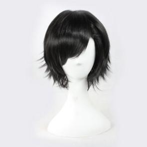 Black 30cm Kagerou Project Kousuke Seto Cosplay Wig
