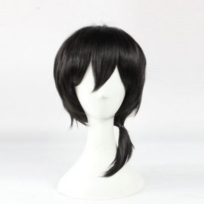 Black 45cm Kagerou Project Konoha Cosplay Wig
