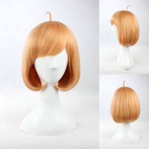 Brown 35cm Beyond the Boundary Kyoukai no Kanata Mirai Kuriyama Cosplay Wig